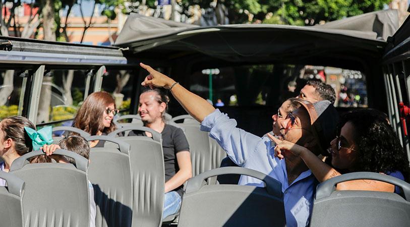 Autobús City Tourister - Double decker